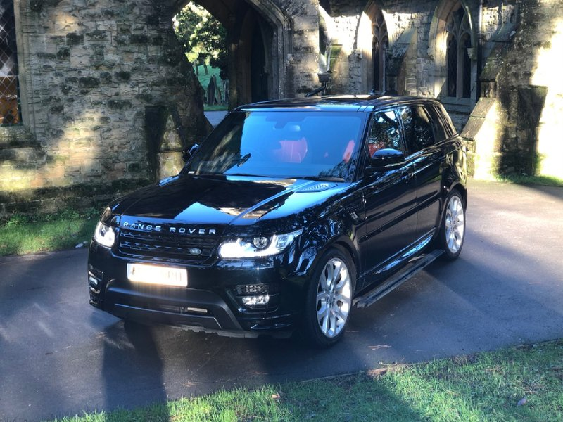 View LAND ROVER RANGE ROVER SDV8 CommandShift Auto Start-Stop Autobiography Dynamic