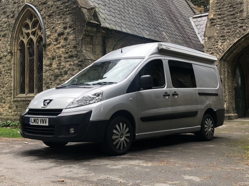 View PEUGEOT EXPERT Camper Van Newly converged L2 H2 HDI LWB H-R P-V